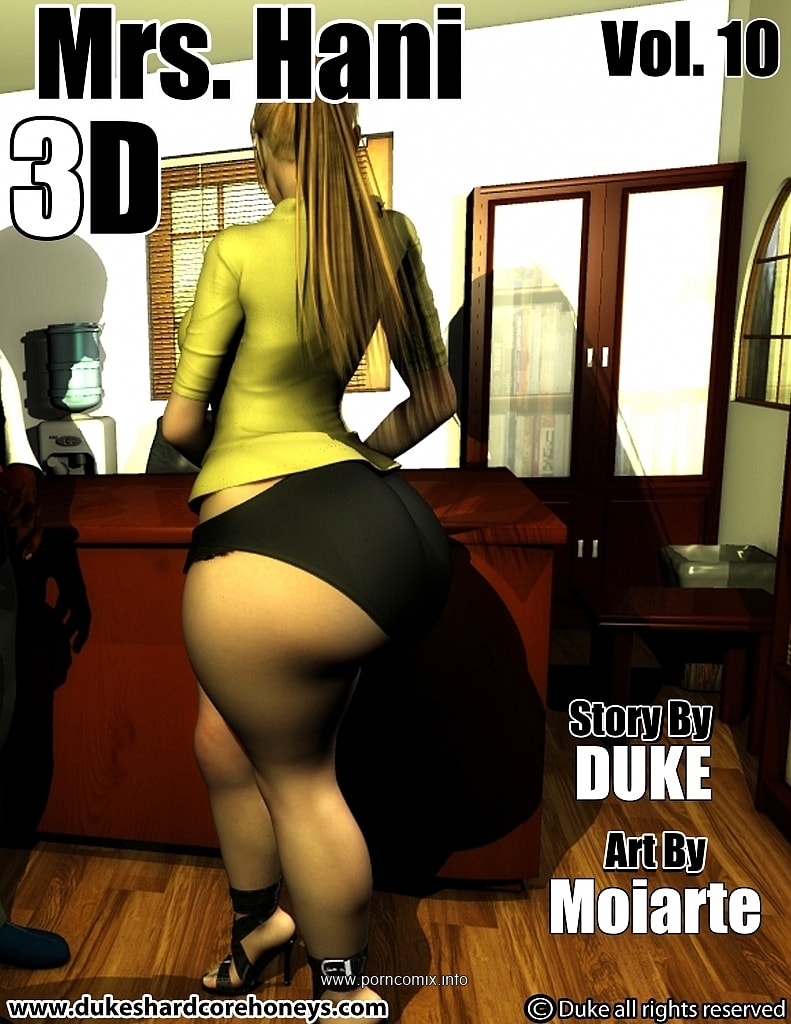 Mrs. Hani 3D Vol.10- Duke Honey image 1