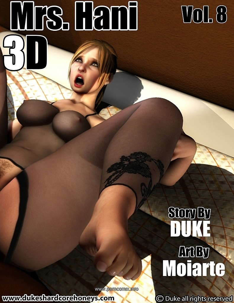 Mrs. Hani 3D Vol.8- Duke Honey image 1