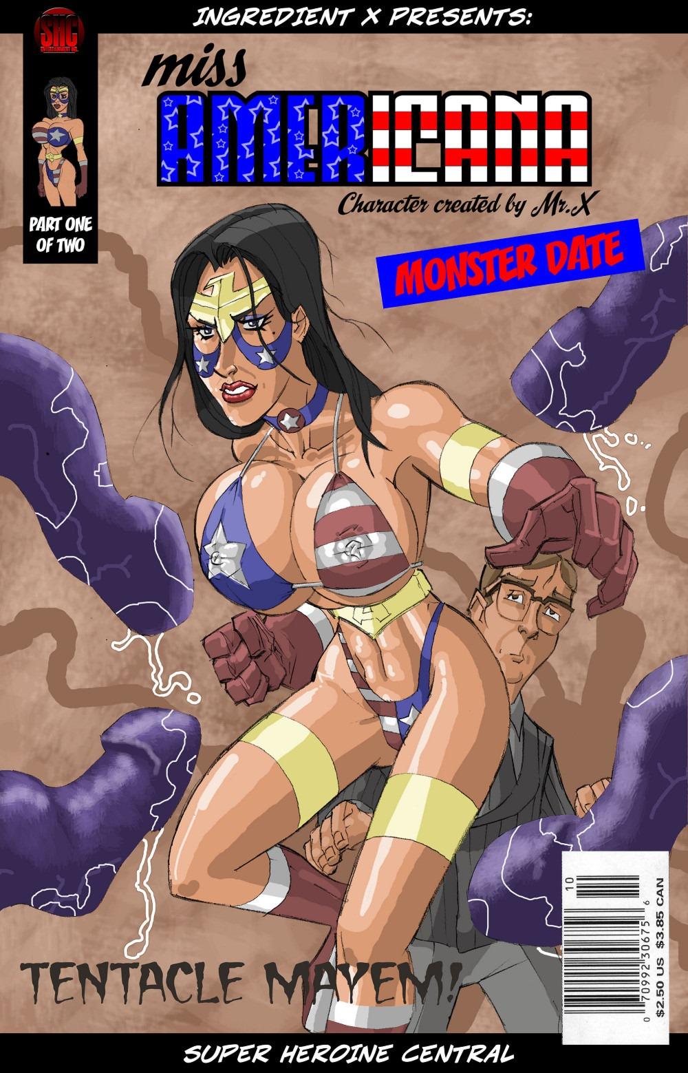 Miss Americana- Tentacle Mayem porn comics 8 muses