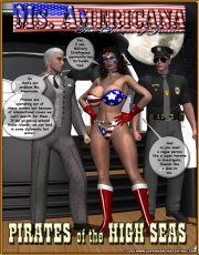 Ms. Americana vs. Pirates of the High Seas porn comics 8 muses