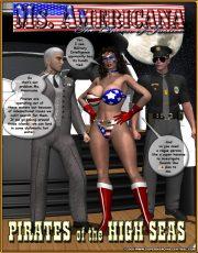 Ms. Americana vs. Pirates of the High Seas porn comics 8 muses