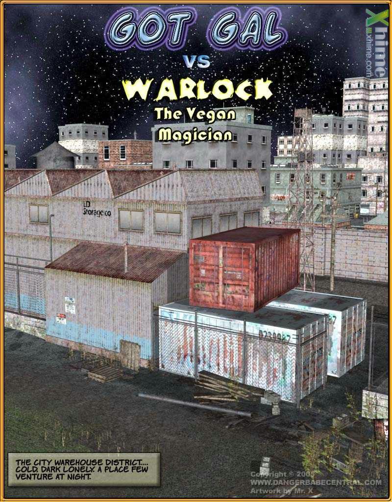 Got Gal vs Warlock – The Vegan Magician image 1