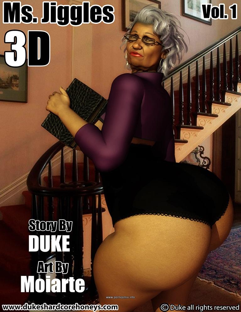 Ms Jiggles 3D 1- Duke Honey porn comics 8 muses
