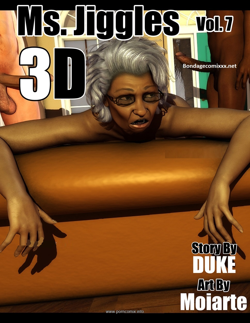 Ms Jiggles 3D – Vol 7- Duke Honey image 1