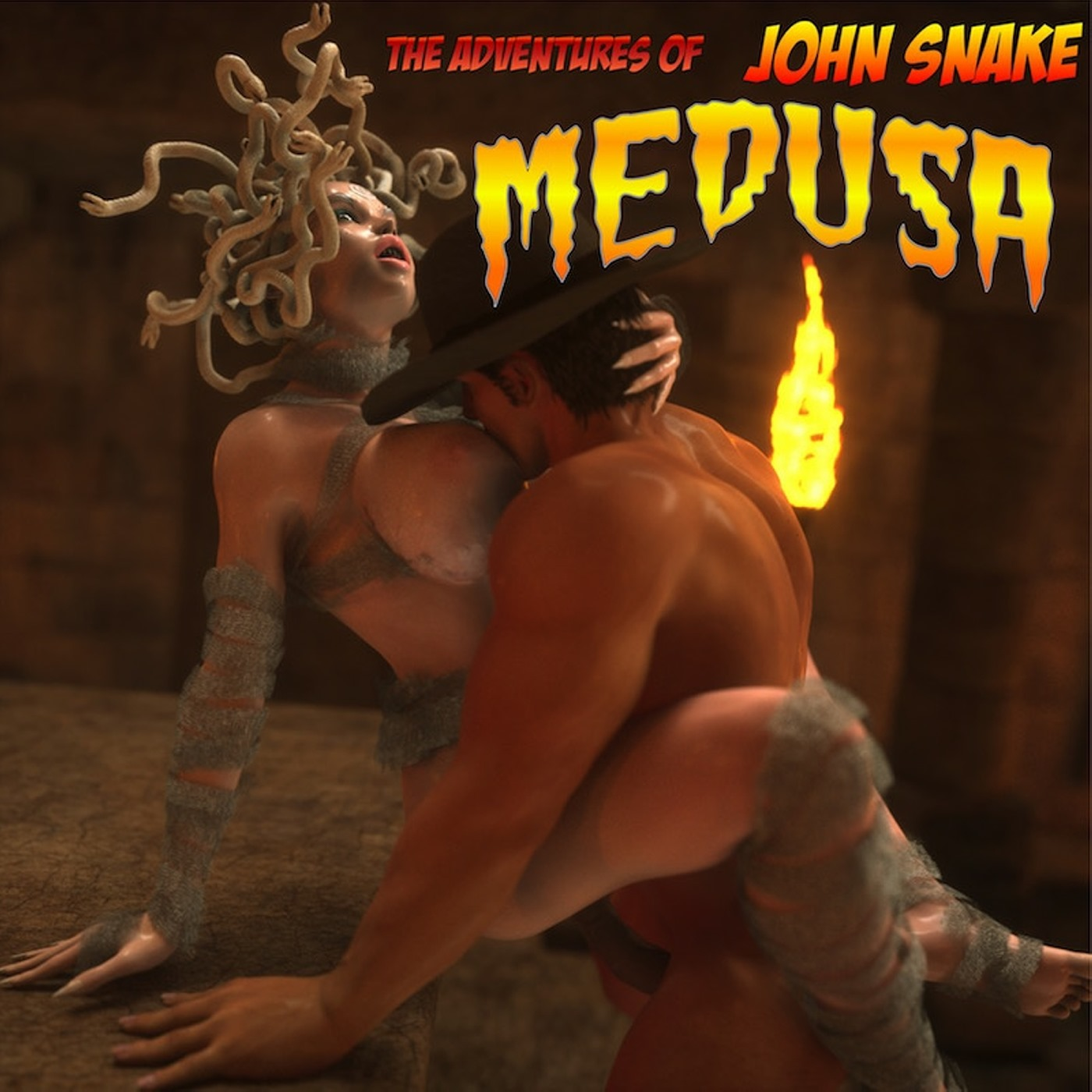 Namijr- The Adventures of John Snake Medusa porn comics 8 muses