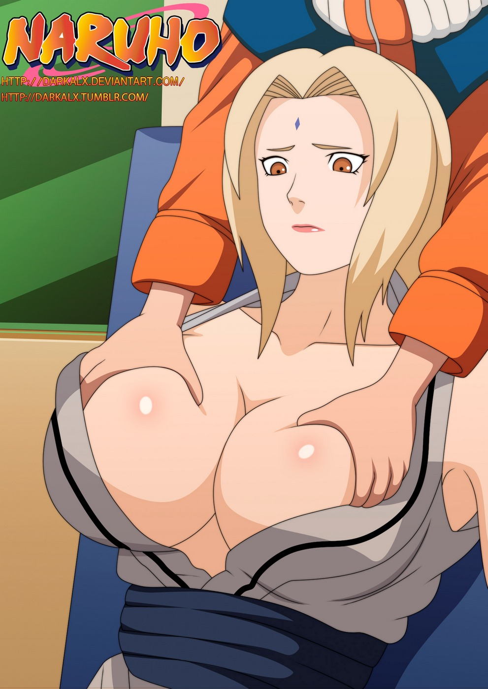 Naruto (Naruho)-ChiChiKage -Big-Breast Ninja porn comics 8 muses