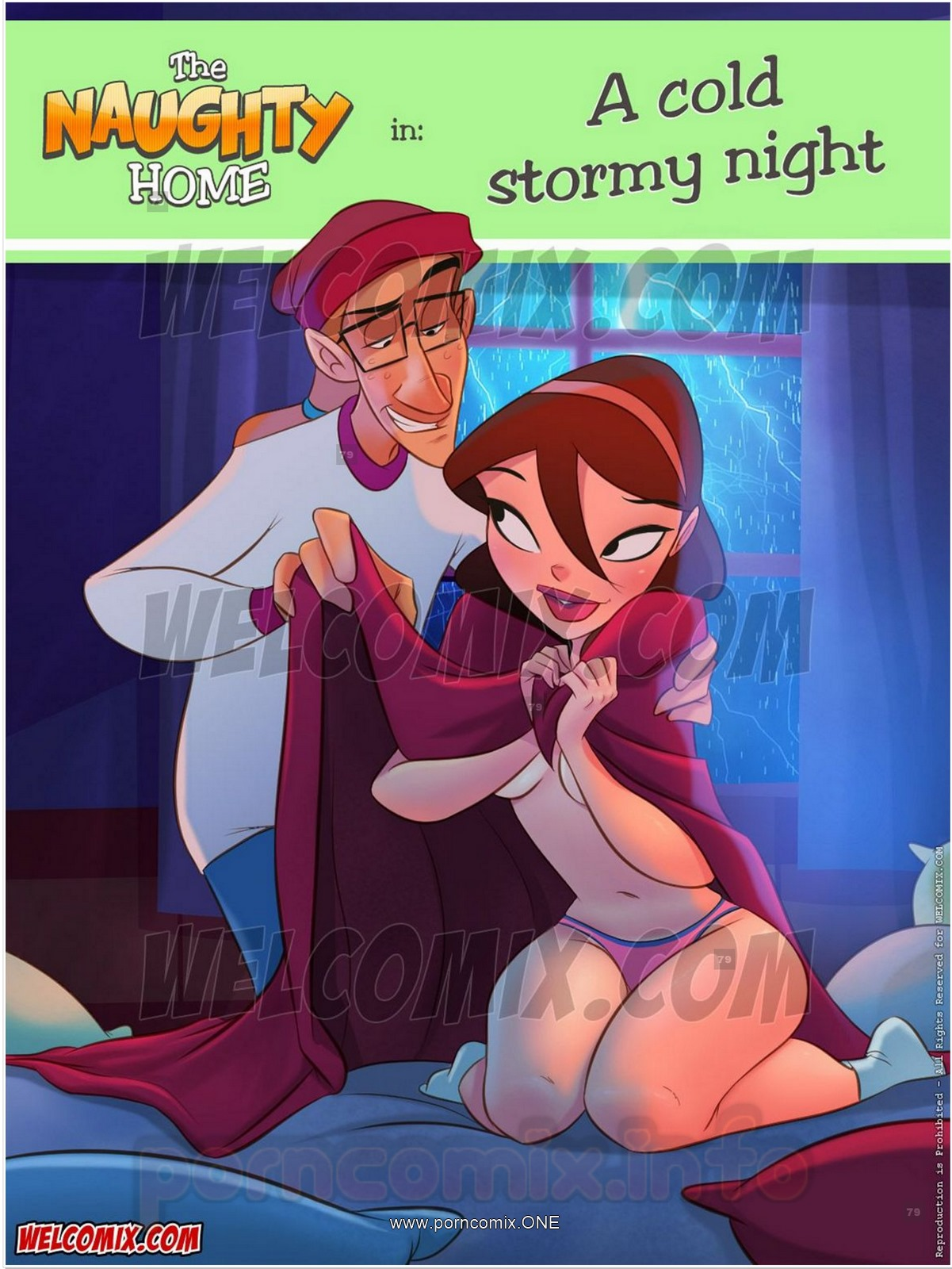 Naughty Home 21- Cold Stormy Night- Welcomix porn comics 8 muses
