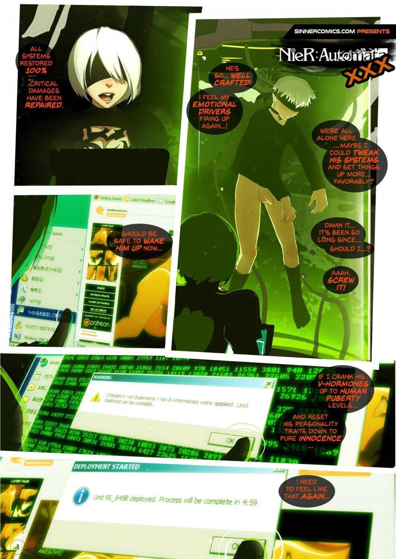 NieR- Automata XXX- Sillygirl image 1