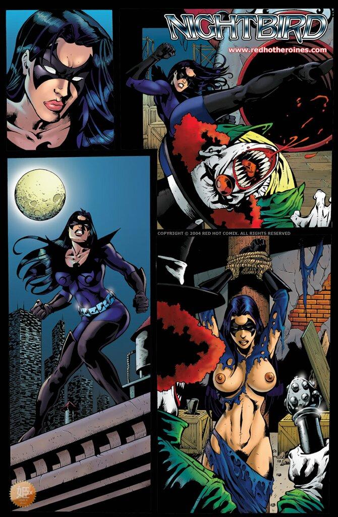 Nightbird- Redhotheroines porn comics 8 muses