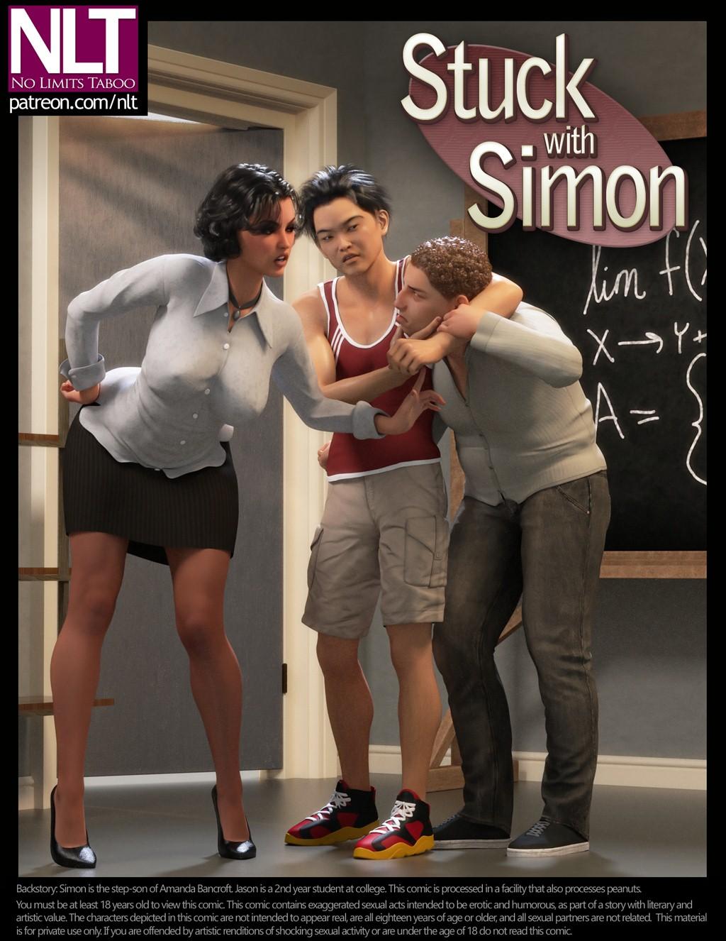 NLT Media- Stuck With Simon porn comics 8 muses