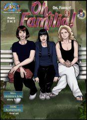 Oh, Familia! 9 – Part 2 (English)- Seiren porn comics 8 muses