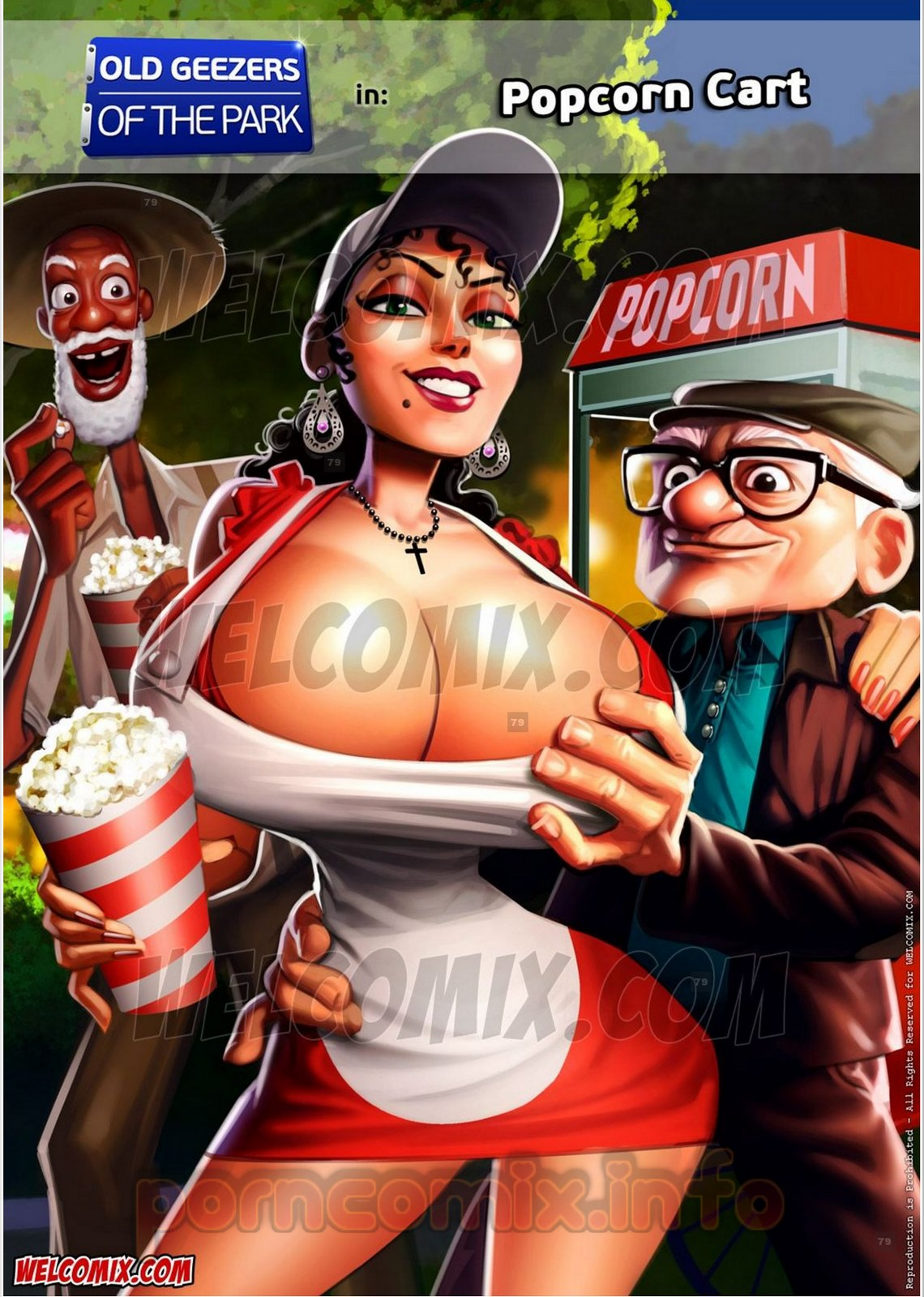 Old Geezers of Parks- Popcorn Cart porn comics 8 muses