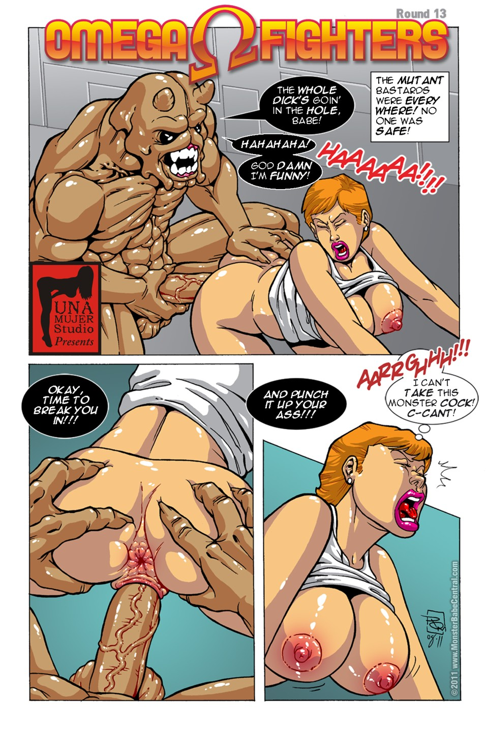 Omega Fighters 13-14 porn comics 8 muses