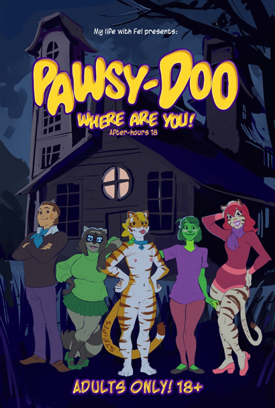 Pawsy-Doo Where are you!- Scooby Doo porn comics 8 muses
