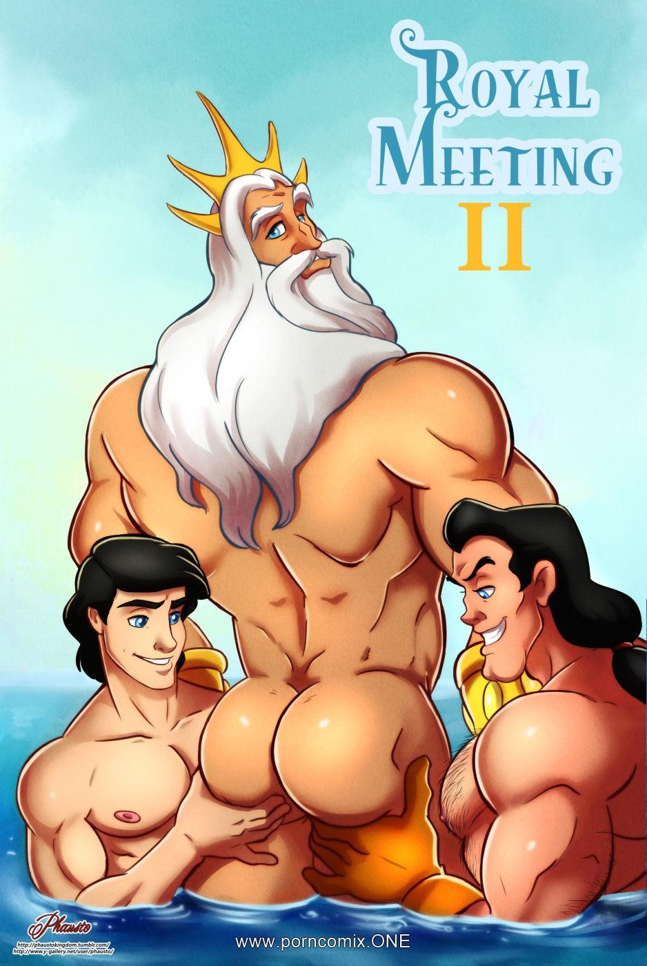 Royal Meeting 2 porn comics 8 muses