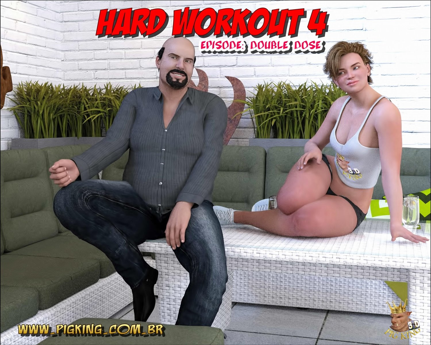 Pig King- Hard Workout 4 Double Dose image 1