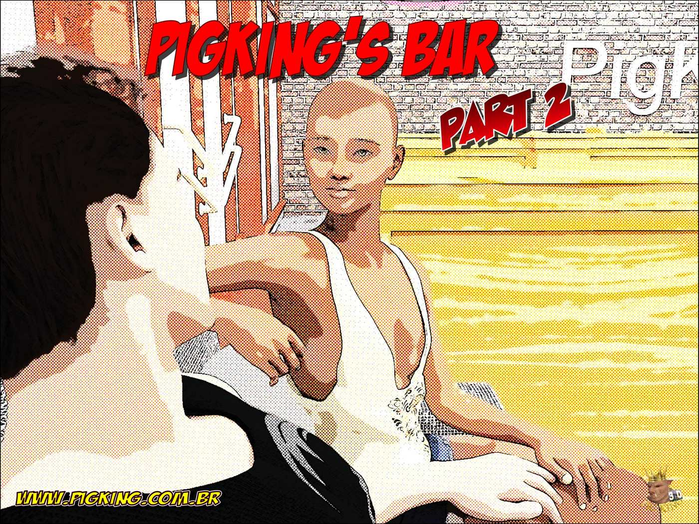 Pigking's Bar Part 2 porn comics 8 muses