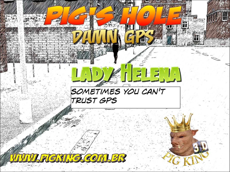 Pig's hole Damn GPS- Pig King porn comics 8 muses