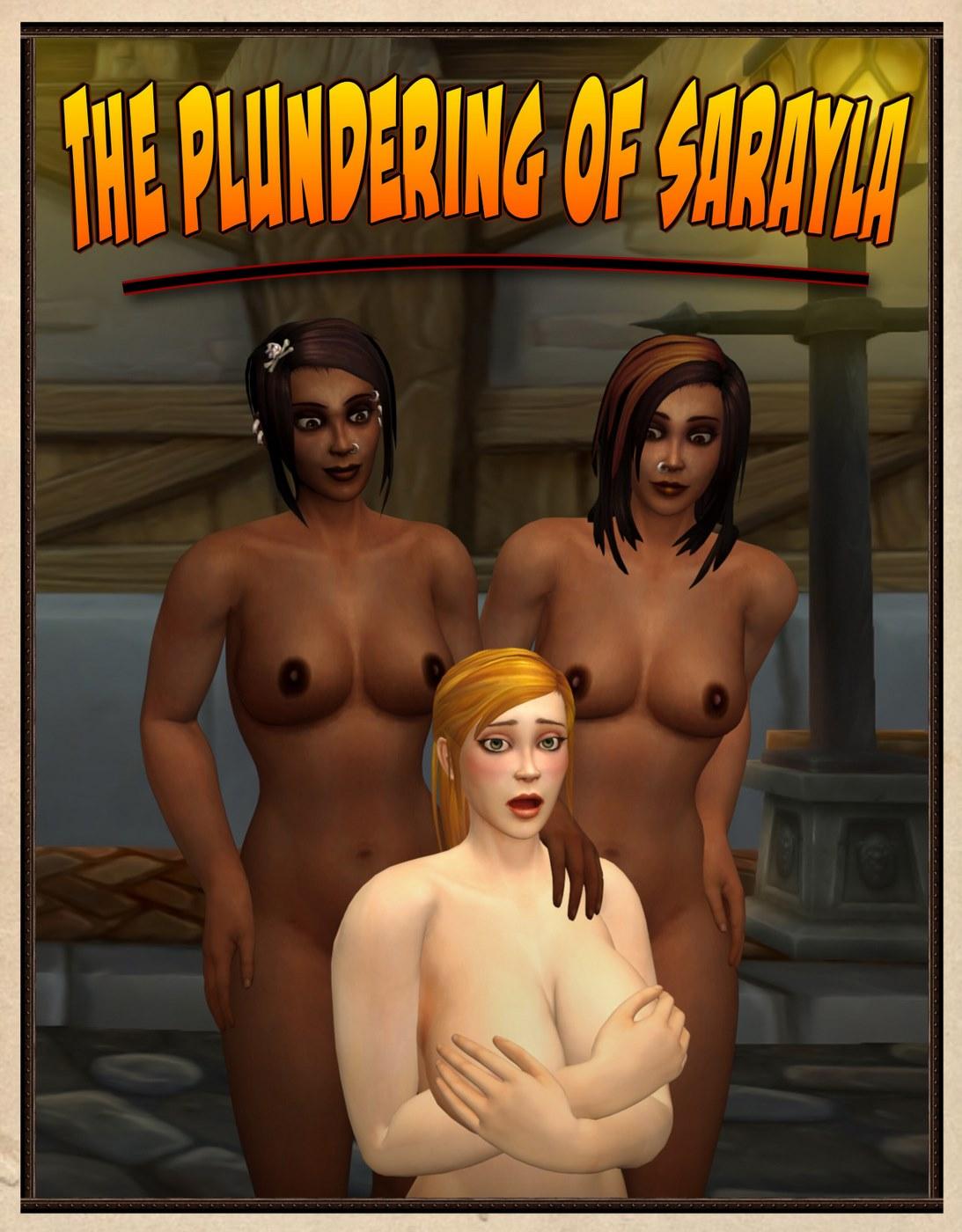 Plundering of Sarayla- Shikron porn comics 8 muses