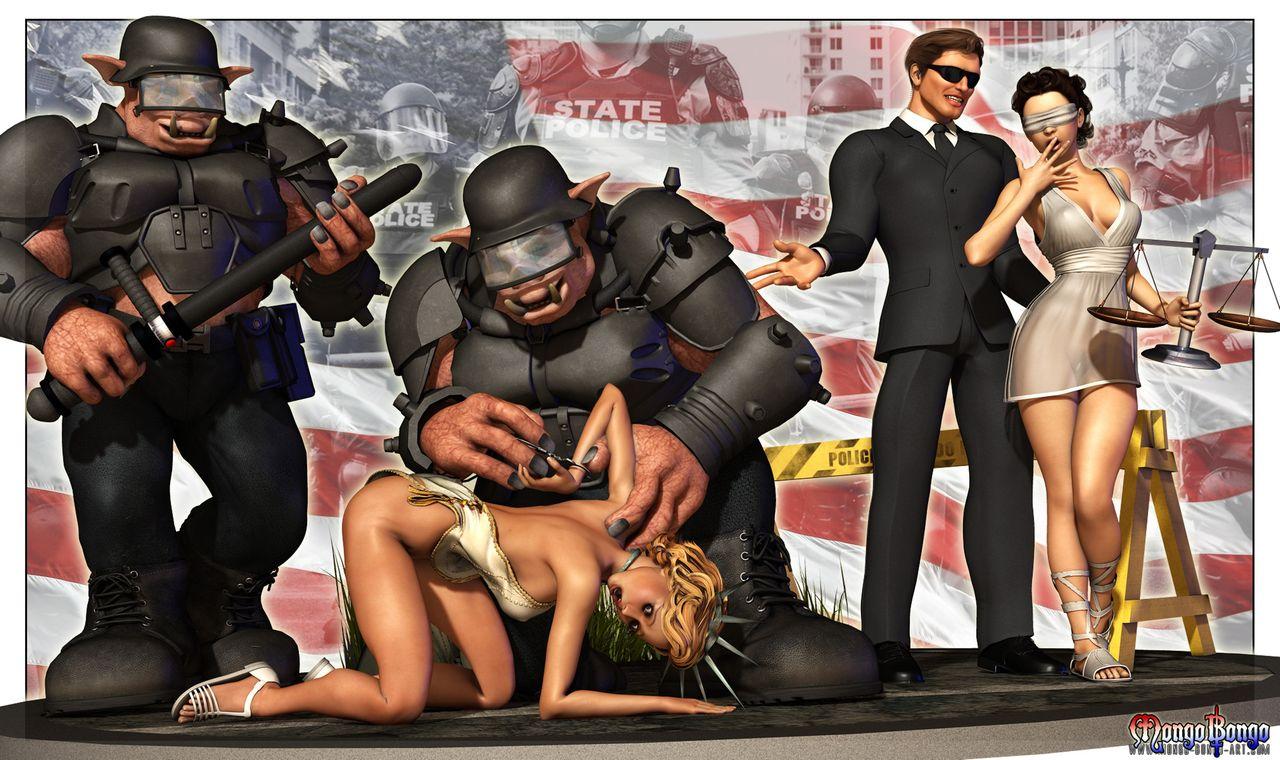 Police State- Mongo Bongo porn comics 8 muses