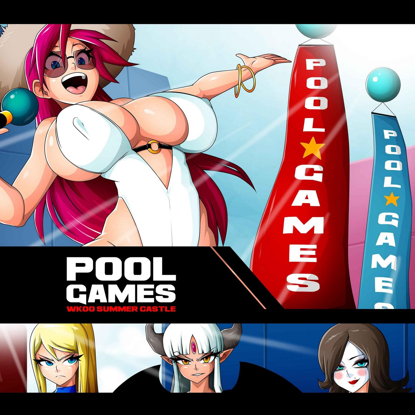 Pool Games- Witchking00 porn comics 8 muses