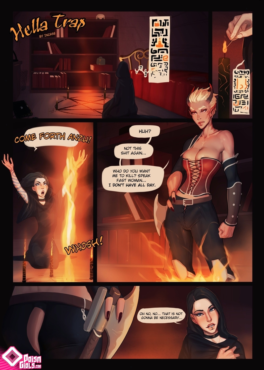 PrismGirls- Hella Tvax porn comics 8 muses