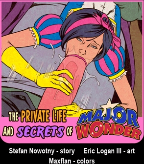 Private Life and Secrets of Major Wonder porn comics 8 muses
