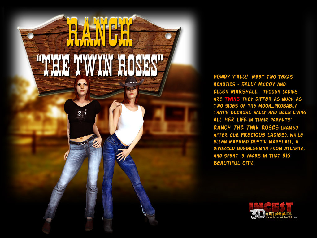 Ranch The Twin Roses. Part 1 porn comics 8 muses