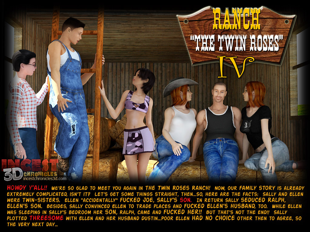 Ranch The Twin Roses. Part 4 porn comics 8 muses