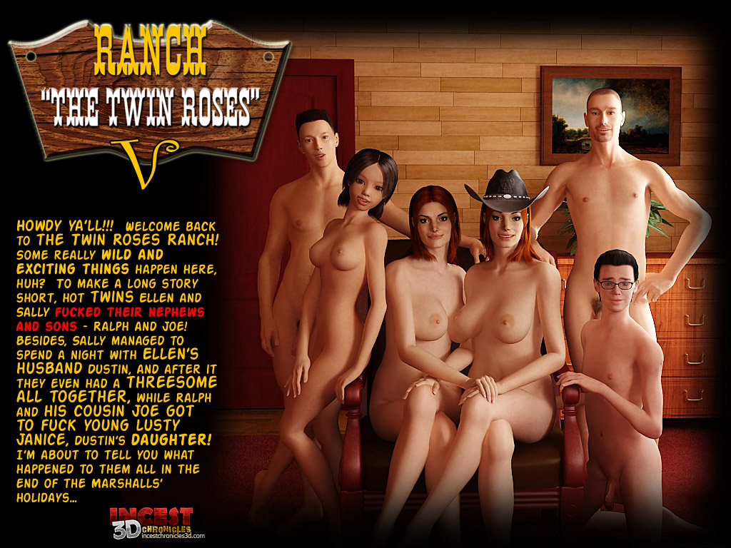 Ranch Twin Roses. Part 5- Incest porn comics 8 muses