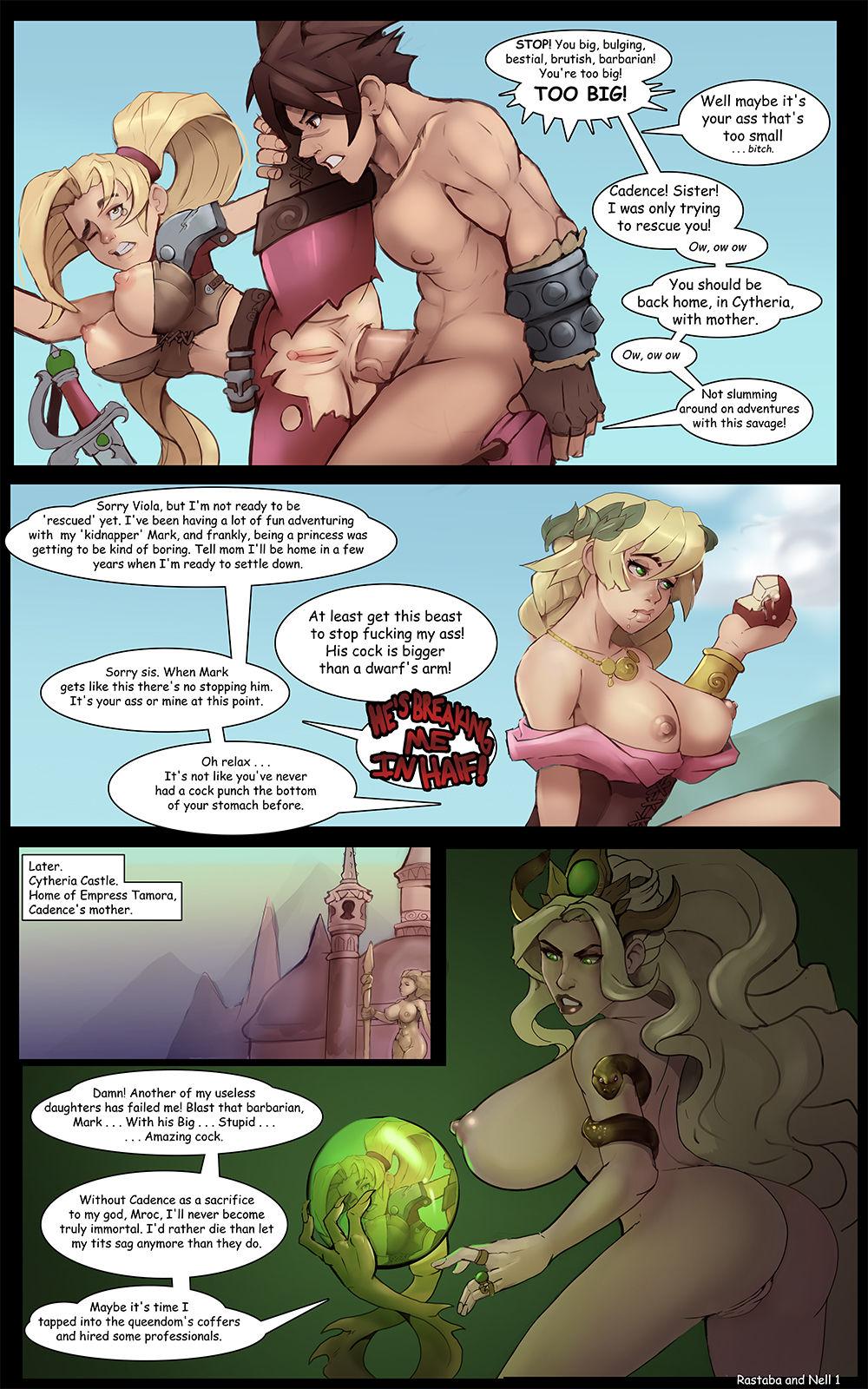 Rastaba Meets Nell- MarkyDaySaid porn comics 8 muses