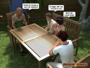 Raunchy School – Barbecue Picnic porn comics 8 muses