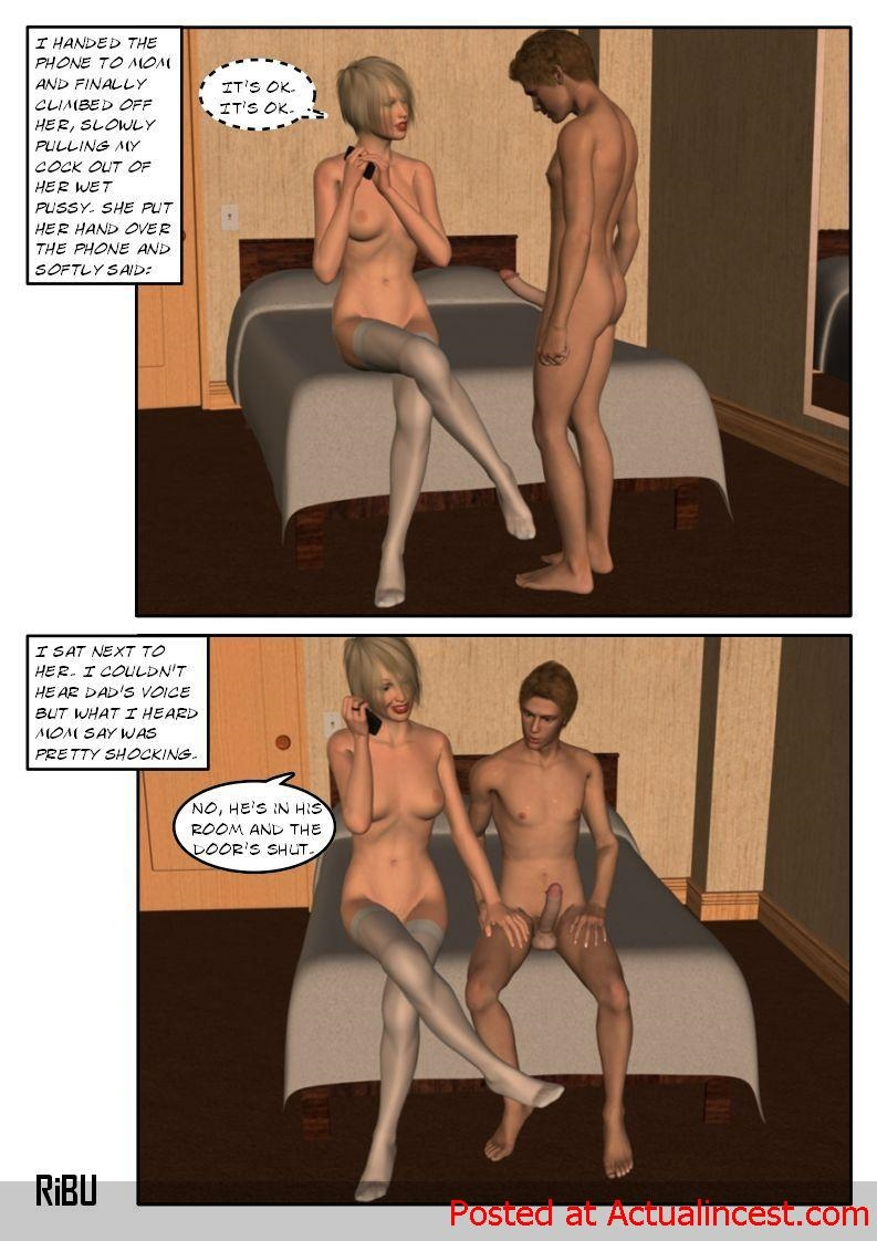 [Ribu] Rooming with Mom 2 porn comics 8 muses