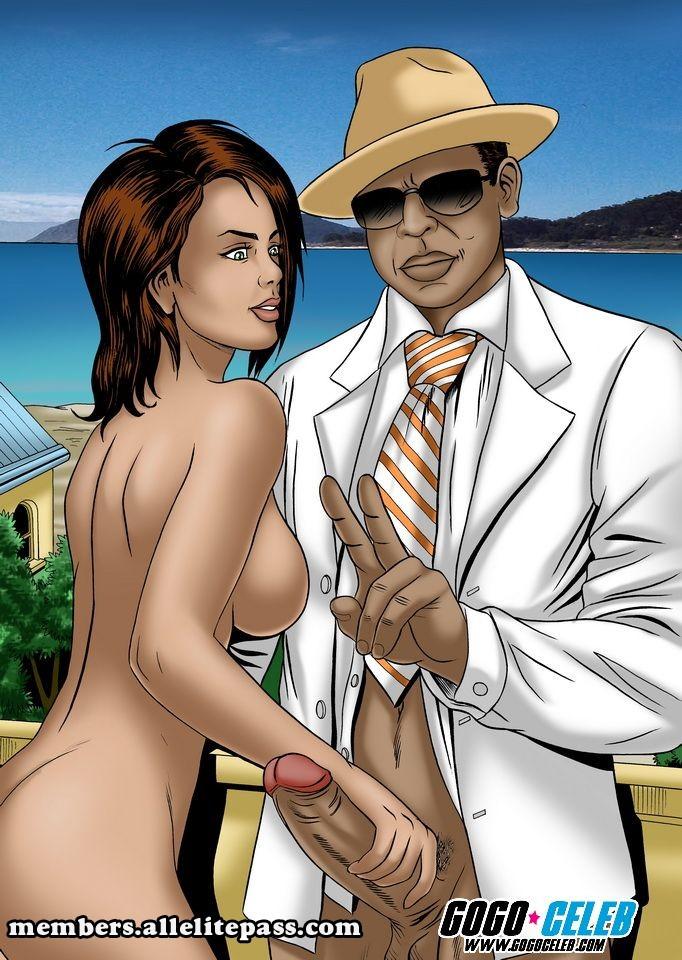Rihana & Jay-z porn comics 8 muses