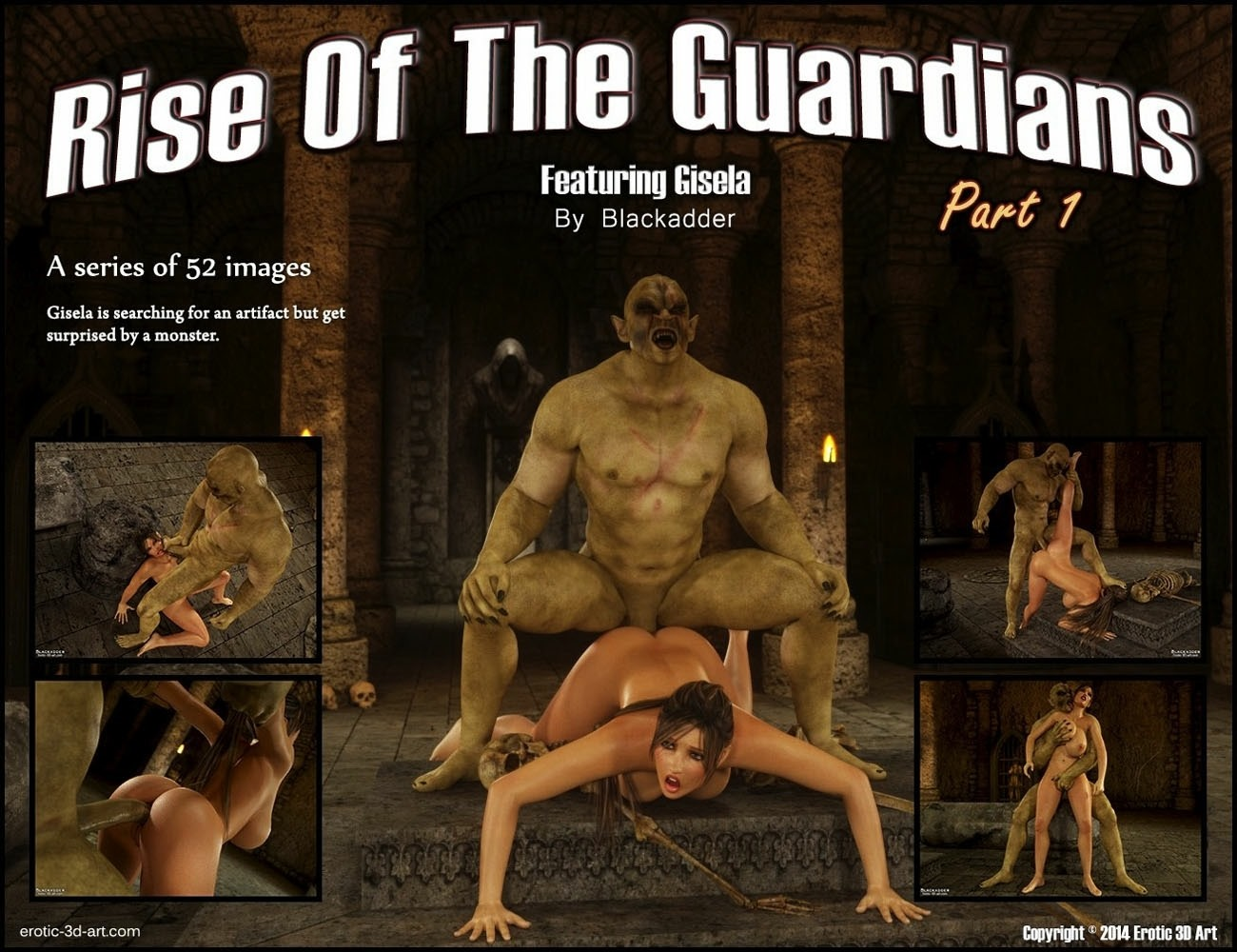 Rise Of the Guardians- Blackadder porn comics 8 muses
