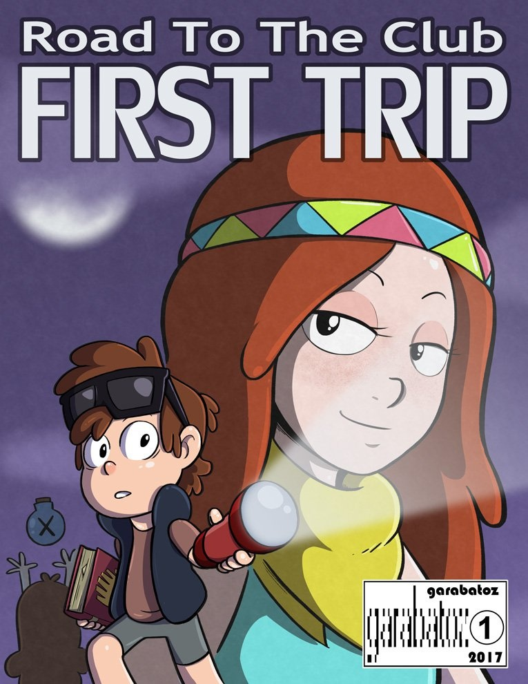 Road To The Club- First Trip (Gravity Falls) porn comics 8 muses