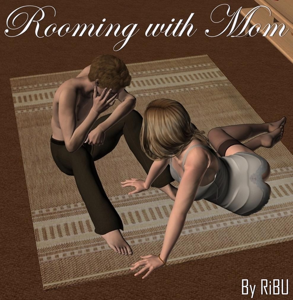 Rooming With Mom- 3D Incest image 1