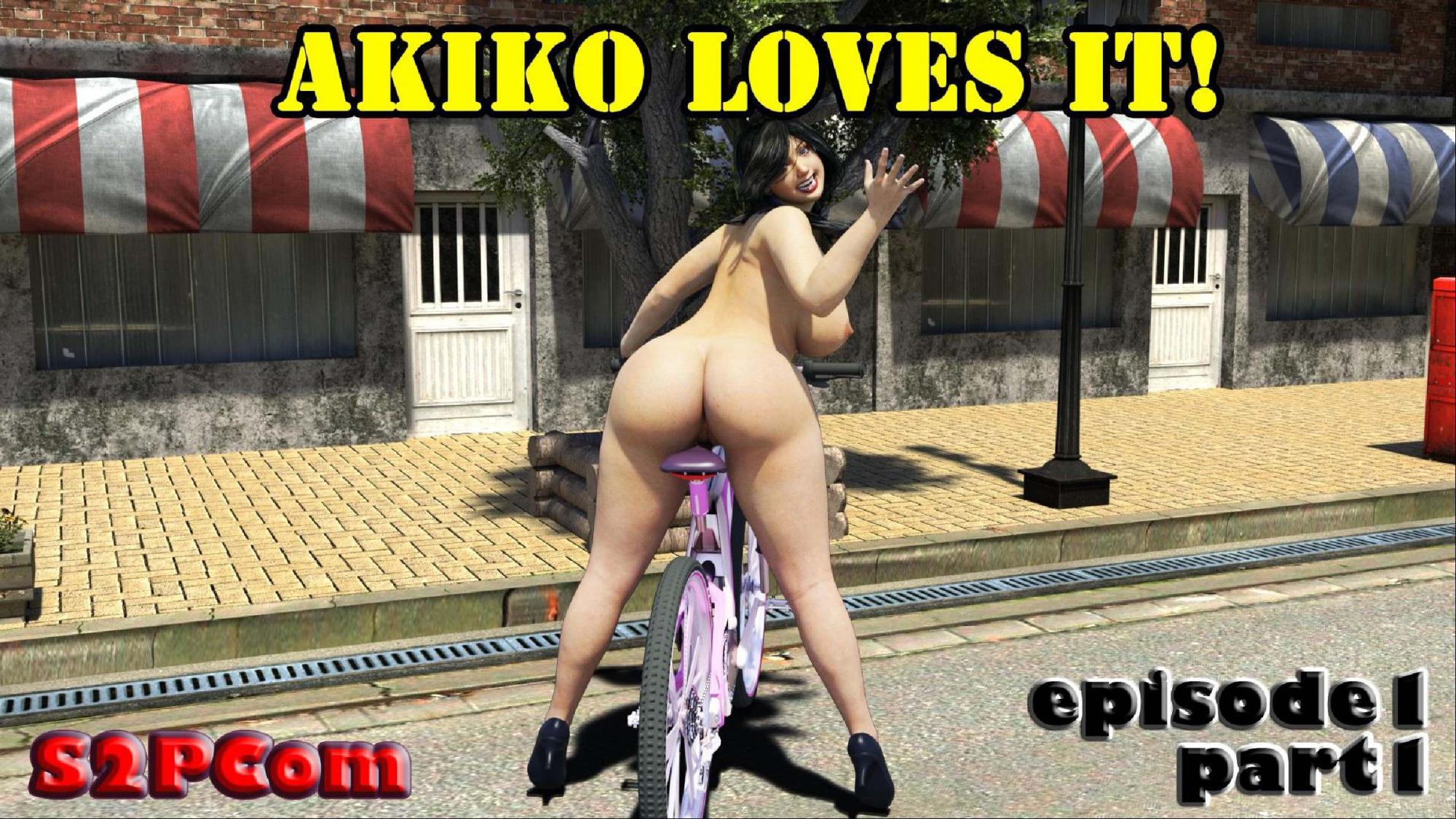 S2PCom- Akiko Loves It Episode.1 porn comics 8 muses