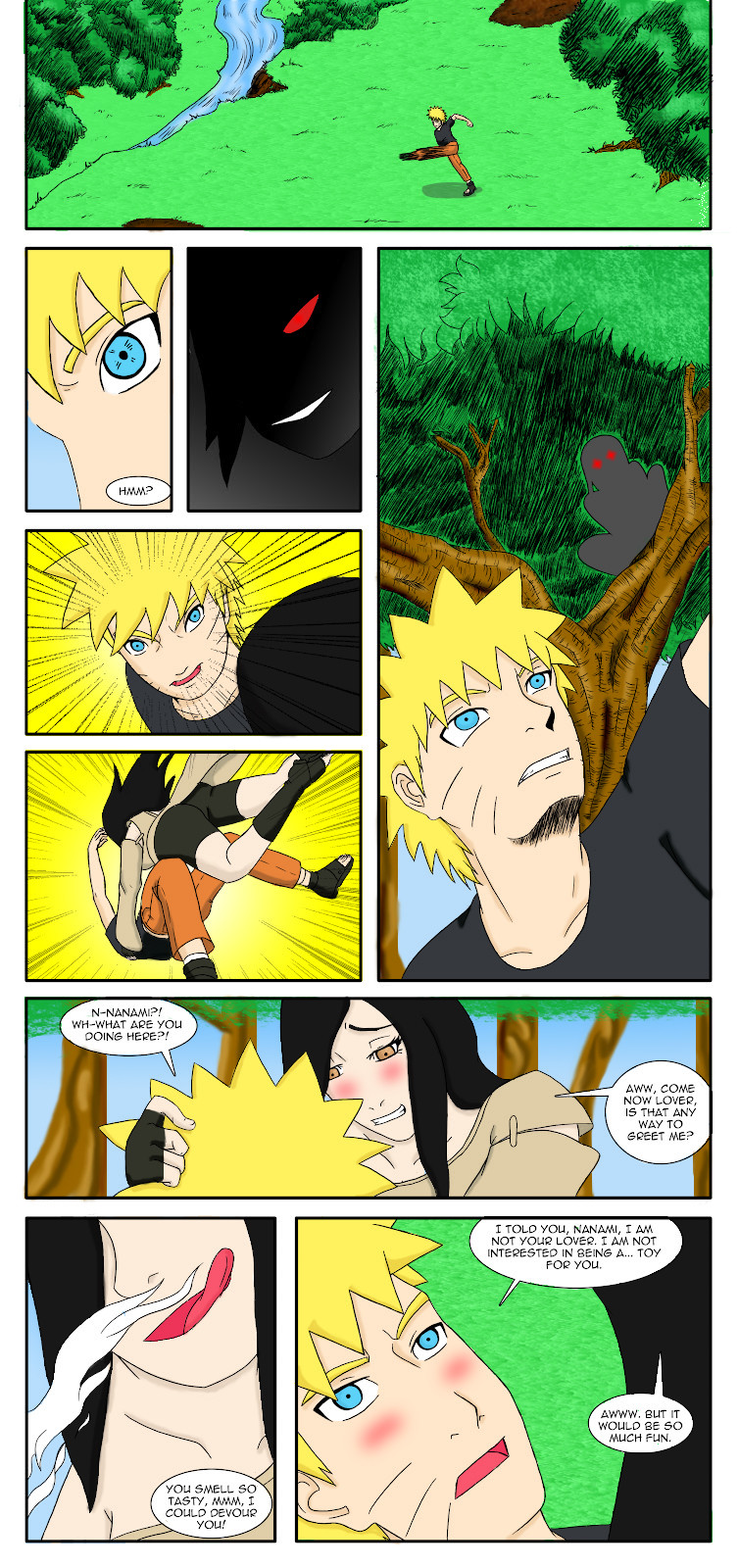 Sage Deodorant- Naruto porn comics 8 muses