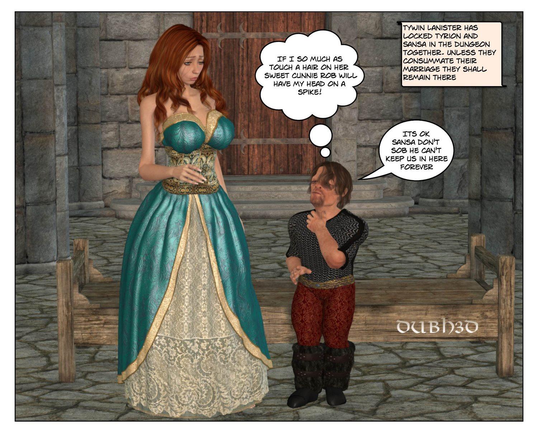 Sansa-Tyrons consummation- Dubhgilla porn comics 8 muses