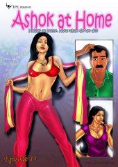 Savita Bhabhi 15- Ashok at Home porn comics 8 muses
