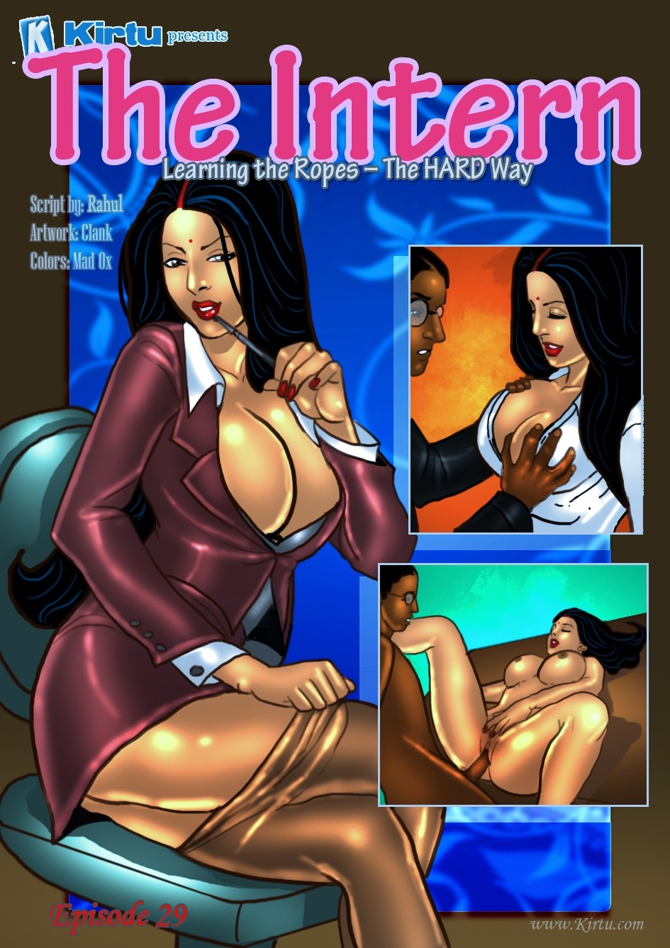 Savita Bhabhi 29 – The Intern porn comics 8 muses