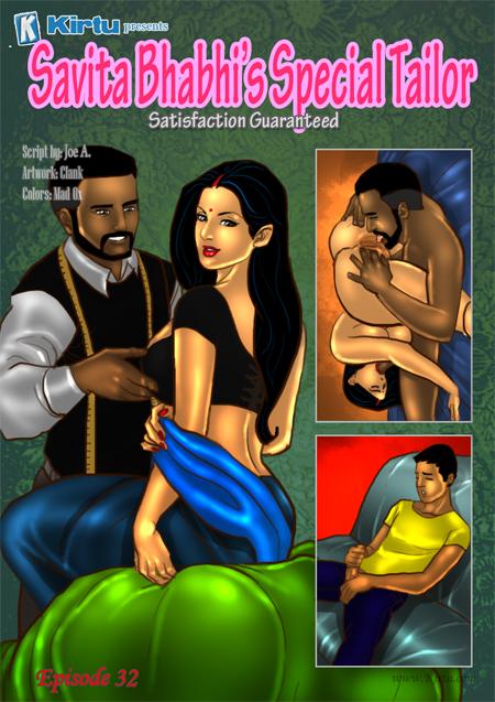 Savita Bhabhi 32- Special Tailor porn comics 8 muses