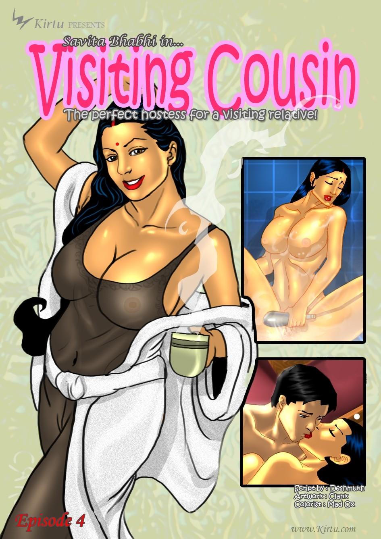 Savita Bhabhi 4- Visiting Cousin image 1