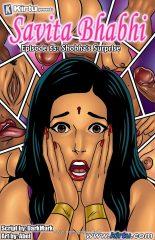 Savita Bhabhi 55- Shobha's Surprise porn comics 8 muses