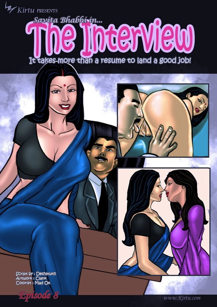 Savita Bhabhi 8- The Interview porn comics 8 muses