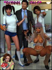 School Gals- Daniel40 porn comics 8 muses