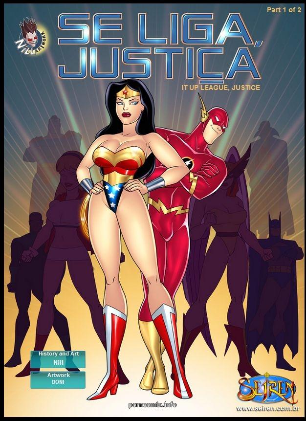 Se Liga Justica- It Up League, Justice 1- Seiren porn comics 8 muses