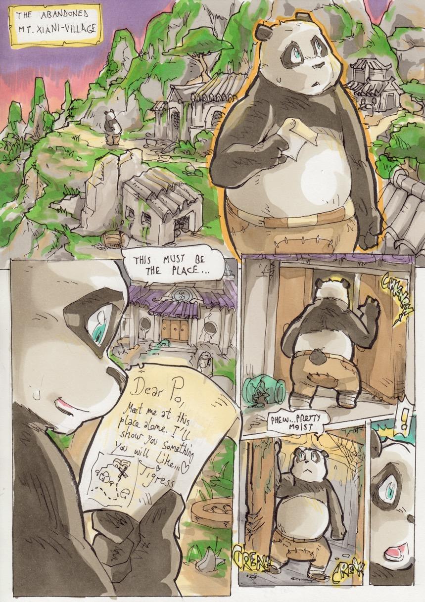 Seths Tigress- Kung fu Panda porn comics 8 muses