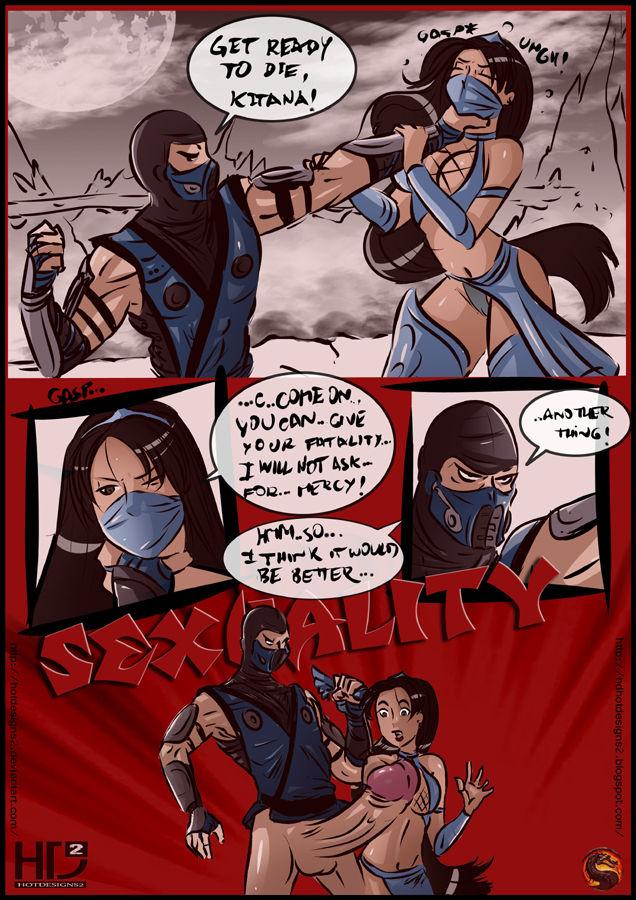 Sexuality- Mortal Kombat image 1